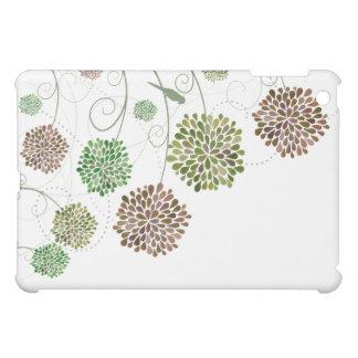 花の花のファインアートのお洒落な自然デザイナー iPad MINIカバー