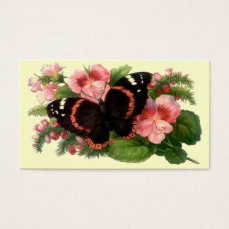 花の花のブティックの花屋店の名刺 名刺