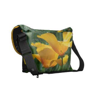 花の花の庭の写真撮影 メッセンジャーバッグ
