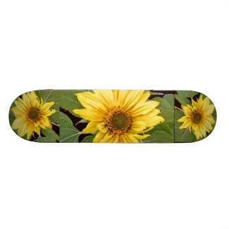 花の花の庭の花 21.6CM スケートボードデッキ
