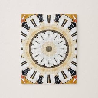 花の花びらの抽象芸術 ジグソーパズル