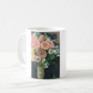 花の花束のコーヒー・マグ コーヒーマグカップ
