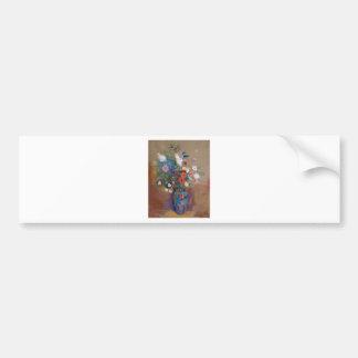 花の花束-オディロン・ルドン バンパーステッカー