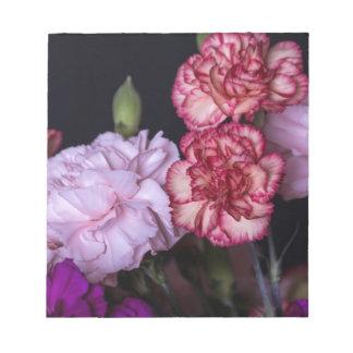 花の花束 ノートパッド