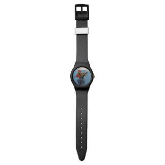 花の花束 腕時計
