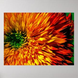 花の花火ポスター ポスター