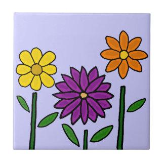花の芸術のタイルによって タイル