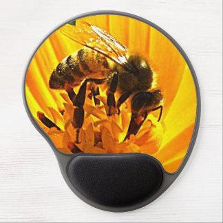 花の蜂 ジェルマウスパッド