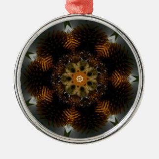 花の蜂 メタルオーナメント