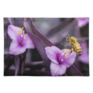 花の蜂 ランチョンマット