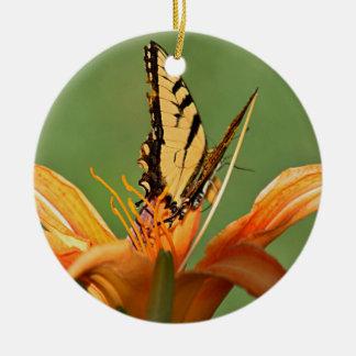 花の蝶 セラミックオーナメント