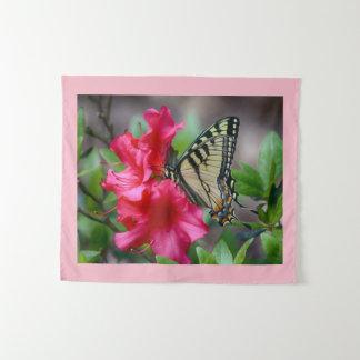 花の蝶 タペストリー