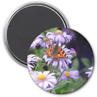 花の蝶 マグネット