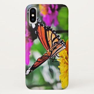 花の蝶 iPhone X ケース