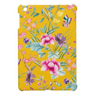 花の装飾の黄色 iPad MINI CASE