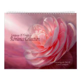 花の言語-ロマンスのコレクションのカレンダー カレンダー