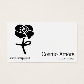 花の記号 名刺