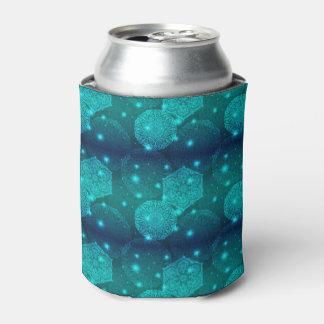 花の贅沢な曼荼羅パターン 缶クーラー