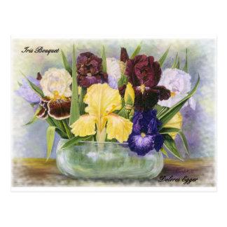 花の郵便はがきのオリジナルはドロレスEggerを印刷します ポストカード