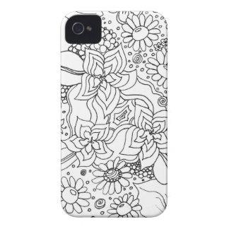 花の集まり Case-Mate iPhone 4 ケース
