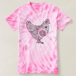 花の雌鶏 Tシャツ