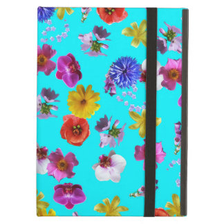 花の青い箱 iPad AIRケース