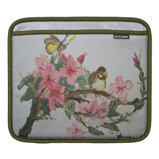 花の鳥 iPadスリーブ