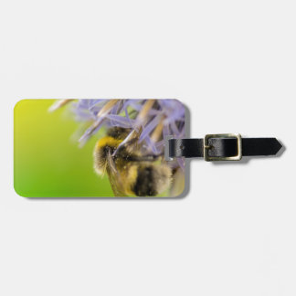 花の《昆虫》マルハナバチ ラゲッジタグ