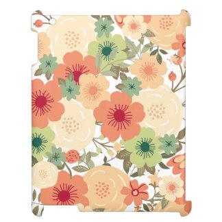 花のiPadの場合 iPad Case