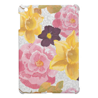 花のipadの小型場合 iPad mini カバー