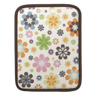 花のiPadの袖 iPadスリーブ
