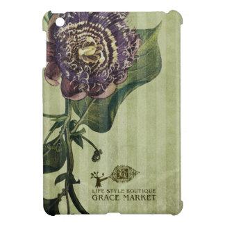 花のiPad Miniの紫色の箱 iPad Miniケース