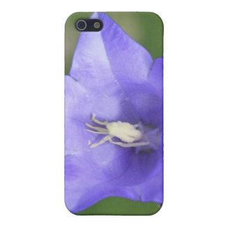 花のIphone青い4/4s Speckの箱 iPhone 5 カバー