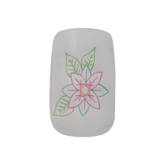 花のminxのネイル ネイルアート