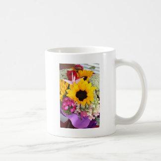 花のorigamiクレーン コーヒーマグカップ