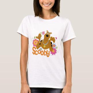 花のScooby Tシャツ
