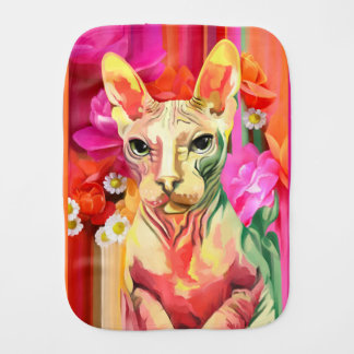 花のSphynx猫 バープクロス