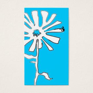 花のsquiggles 名刺