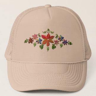 花は帽子を設計しました キャップ