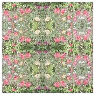 花は2B綿織物をまだらにします ファブリック