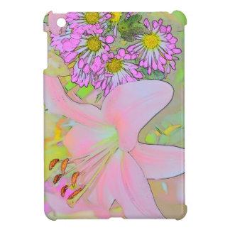 花は 精通したiPad Miniの光沢のある終わりの箱を包装します iPad Mini カバー