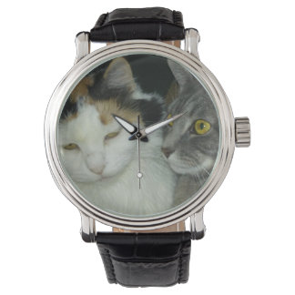 花びらおよび羽の腕時計 腕時計
