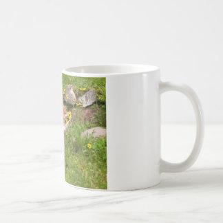 花をストップ、かいで下さい コーヒーマグカップ