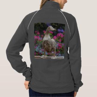 花を持つ木のアヒル ジャケット