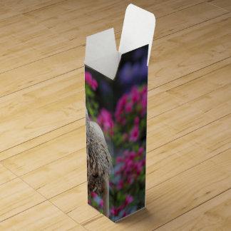 花を持つ木のアヒル ワインギフトボックス
