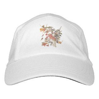 花を持つAudubonのルビーThroatedハチドリ ヘッドスウェットハット
