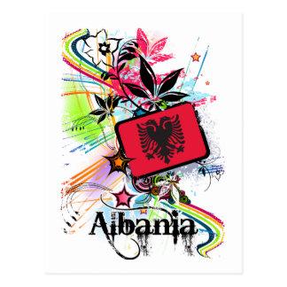 花アルバニア ポストカード