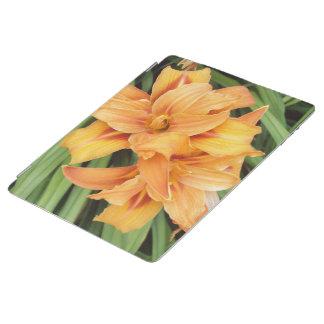 花オレンジワスレグサ iPadスマートカバー