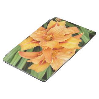 花オレンジワスレグサ iPad AIR カバー