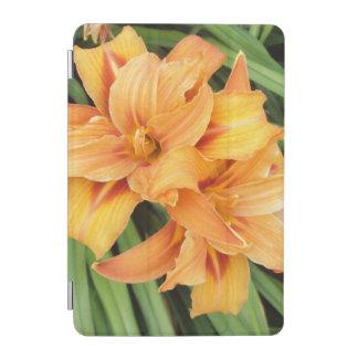 花オレンジワスレグサ iPad MINIカバー